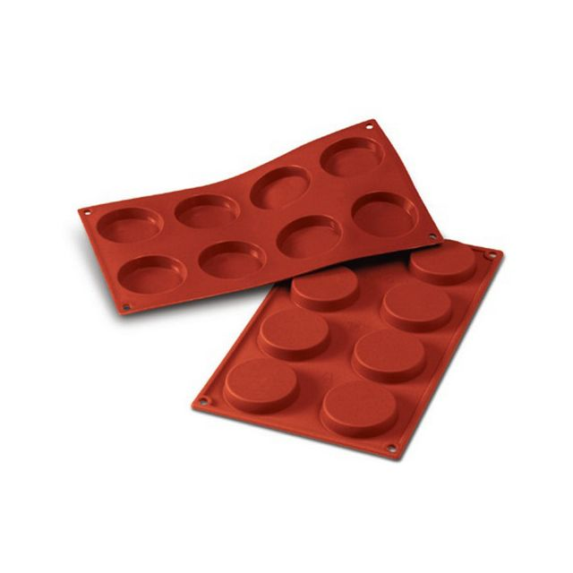 Guery Moule silicone florentins 8 empreintes