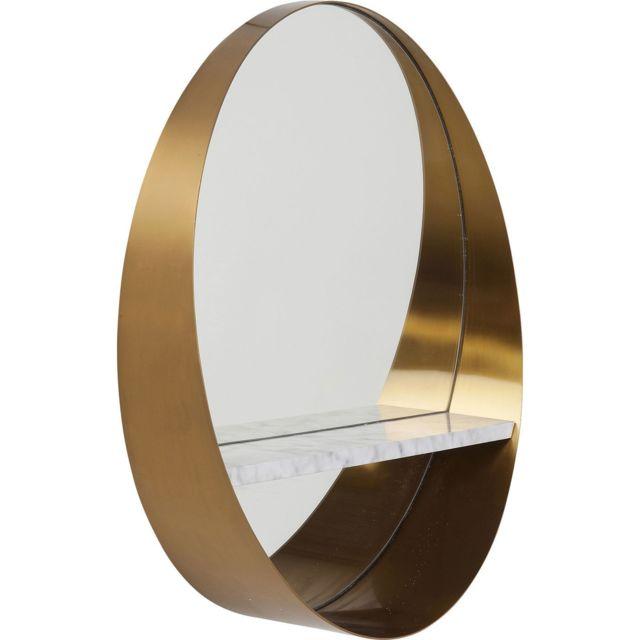 Karedesign Miroir Hipster étagère 65cm Kare Design