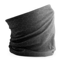 2c89fc207ddf8 Beechfield - Echarpe tubulaire - tour de cou avec motifs géométriques -  B904 - gris foncé