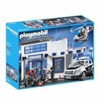 Playmobil - 9372-Poste de police et véhicule