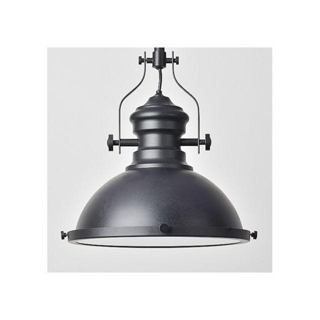 kosilum - suspension industrielle noire - neris - en soldes - pas