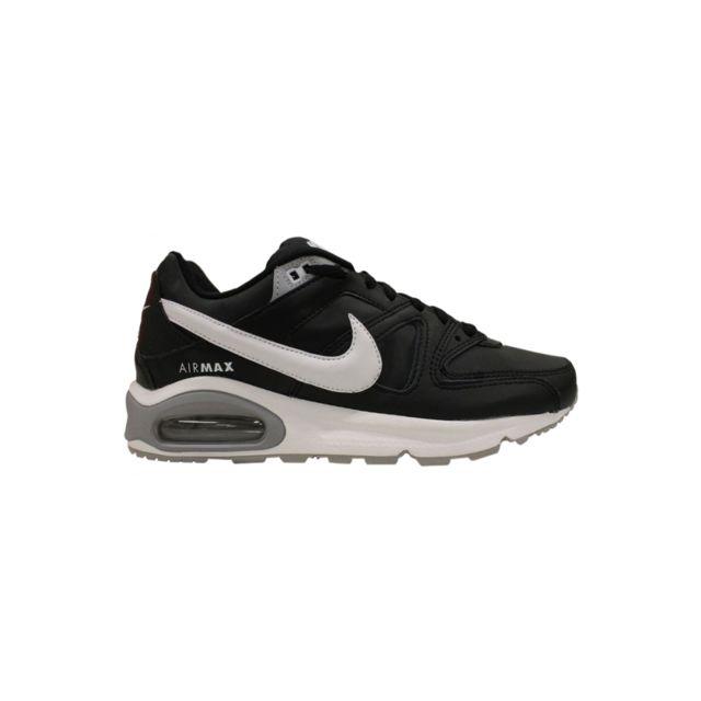 los angeles 935e7 1c3d7 Nike - Basket Air Max Command Leather Noir 749760-010 - pas cher Achat   Vente  Baskets homme - RueDuCommerce