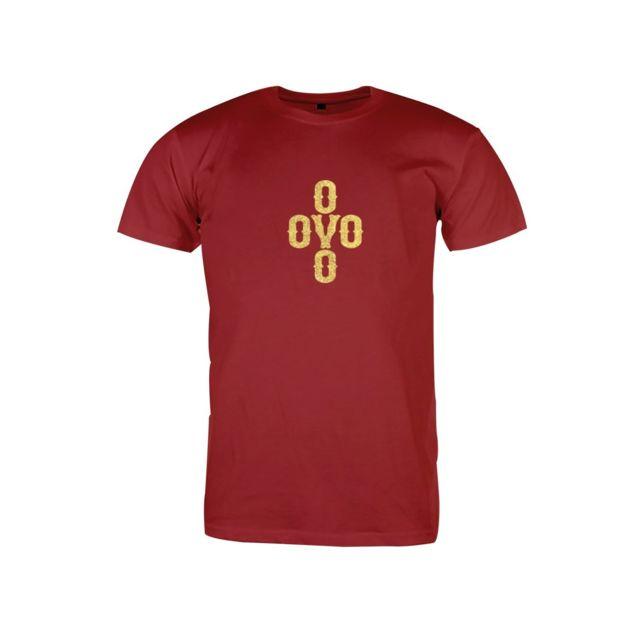 8948ed412317c3 Magiccustom - Ovo - T-shirt Col Rond Pom Pom Tee Gold Logo - pas ...