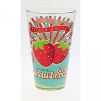 Cerve Verrerie - Lot de 6 chopes bio strawberry