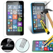 Cabling - Lumia 640 Prime Protecteur Verre Trempé 0,26mm - Protection d'écran pour Microsoft Lumia 640 SmartPhone / Téléphone Mobile
