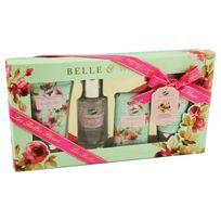 Gloss - Coffret de Bain Les Belles Fleurs - Rose - 4 pièces