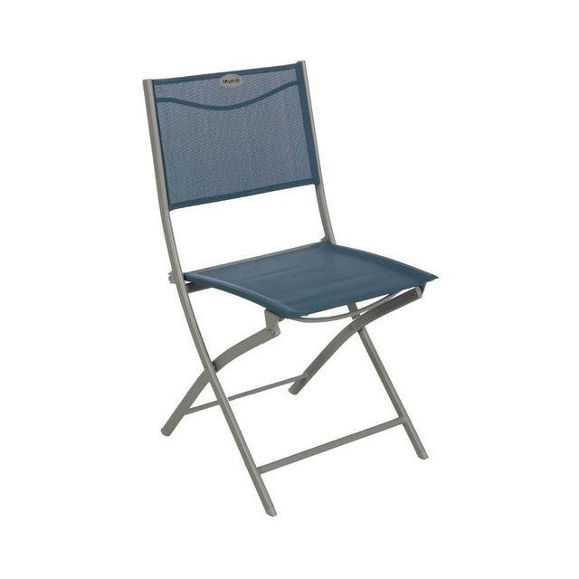Hespéride Chaise pliante Modula Hesperide bleu orage