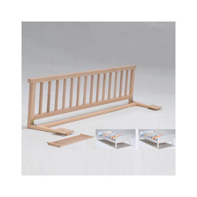 no name barri re de lit naturel pas cher achat vente barri res de lit rueducommerce. Black Bedroom Furniture Sets. Home Design Ideas