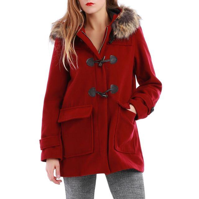 Manteau femme armor lux laine