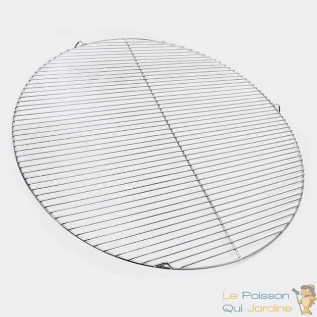 Aqua occaz grille de barbecue ronde en inox diam tre 80 cm 051736 pas cher achat vente - Grille de barbecue ronde ...