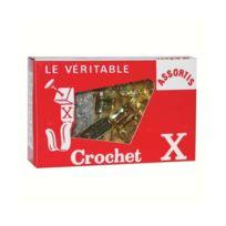Crochet X - Crochet lot de 10 + épingles assorties
