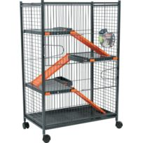 Zolux - Cage Indoor Max Loft 1 Orange