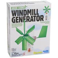 4M - Dam 5603267 Jeu de construction Green Science Generateur Moulin A Vent