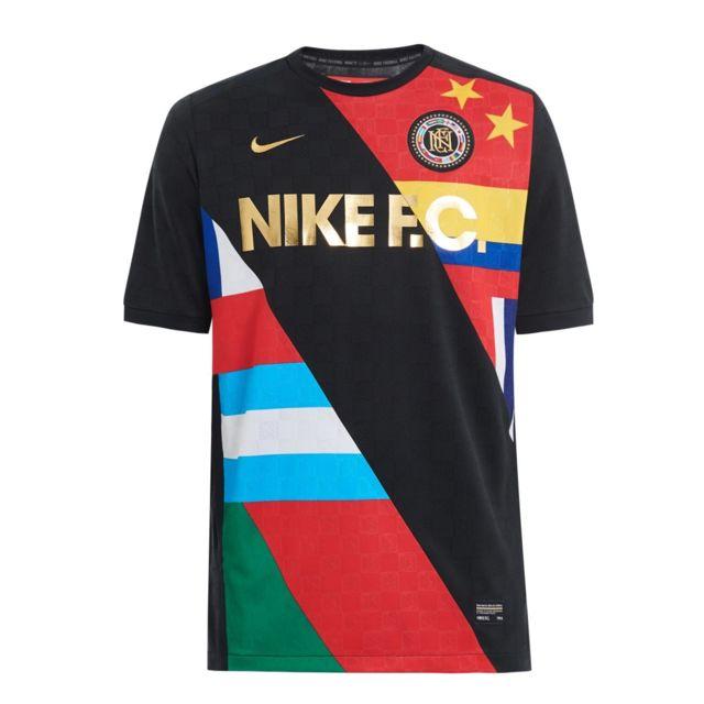 012 Noir Fc Jersey Tee Training Pas Cher 886872 Nike Shirt wYSCnnq