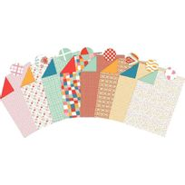 Maildor - feuilles carton décoration assorties 25 x 35 cm - paquet de 40