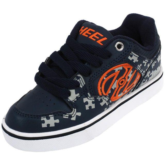e2aa8e00fa02e Heelys - Chaussures à roulettes Motion plus navy grey Bleu 14956 - pas cher  Achat   Vente Chaussures à roulettes - RueDuCommerce