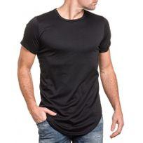 Celebry tees - Tee-shirt noir oversize manches courtes