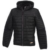 Sergio Tacchini - Vestes demie saison Estro black jacket Noir 22043