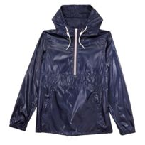 Pull and Bear - Coupe-vent imperméable Pull&Bear - Bleu