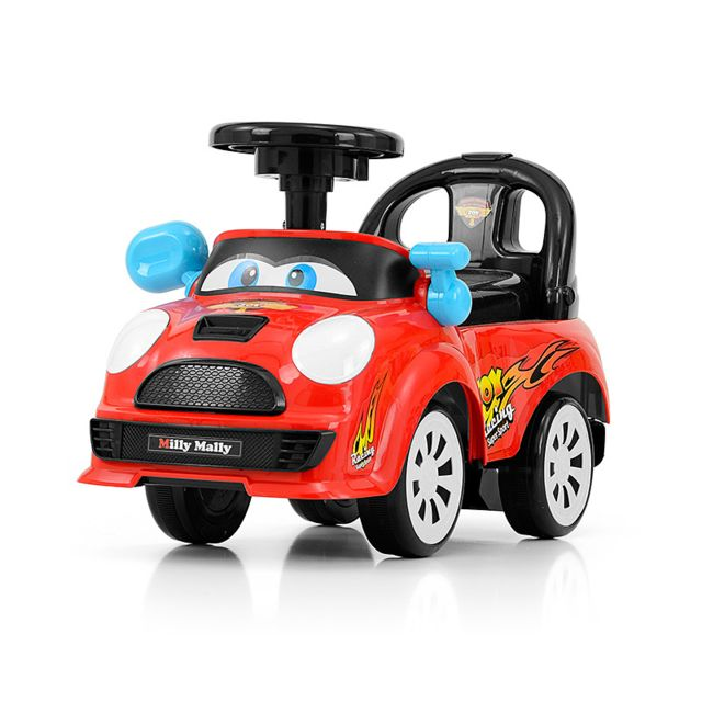 Milly Mally Porteur / Voiturette camion Jhoy + 18 mois | rouge