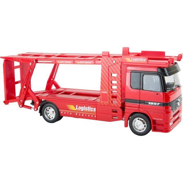 Small Foot Company Voiture miniature Mercedes Benz Transport de voitures