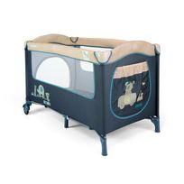 Milly Mally - Lit voyage/parc parapluie pliable mousquitaire bébé Mirage | Bleu Toys