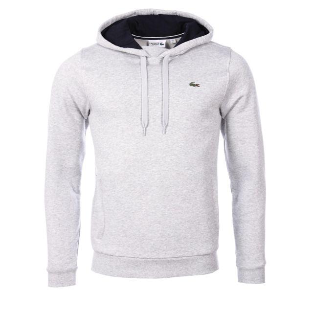 Sh2128 Homme Cher Pas Gris Lacoste Sweatshirt Achat Vente f7Yb6gy