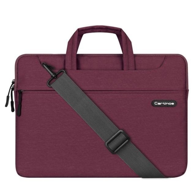 wewoo sacoche pour ordinateur portable violet macbook lenovo et autres ordinateurs portables. Black Bedroom Furniture Sets. Home Design Ideas