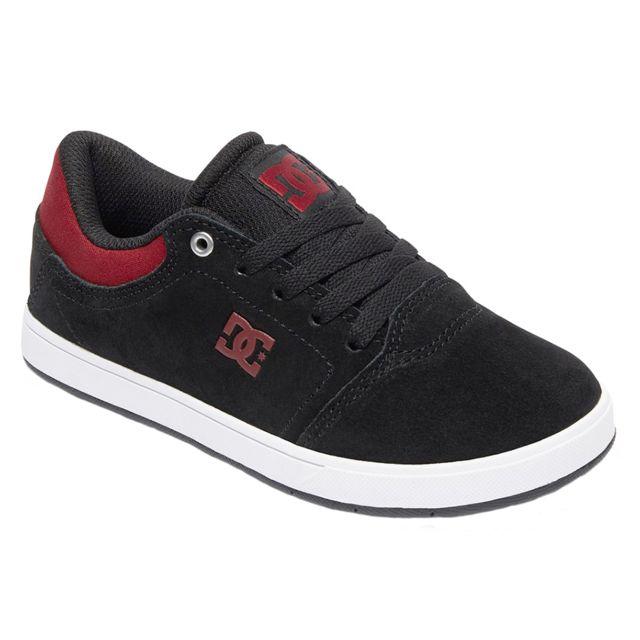 d6b0a60b64e81 Dc - Shoes Crisis Bgm Chaussure Garçon - Taille 28.5 - Noir - pas cher  Achat   Vente Baskets enfant - RueDuCommerce