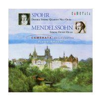 Camerata - spohr : double quatuor a cordes n1,op.65 - mendelssohn : octuor a cordes op.20