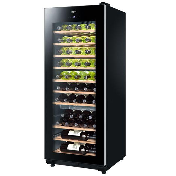 HAIER - cave à vin de conservation 50 bouteilles noir - ws50ga