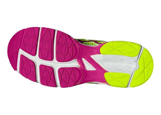 ASICS GEL PHOENIX 8 JAUNE FLUO ET ROSE Chaussures de running