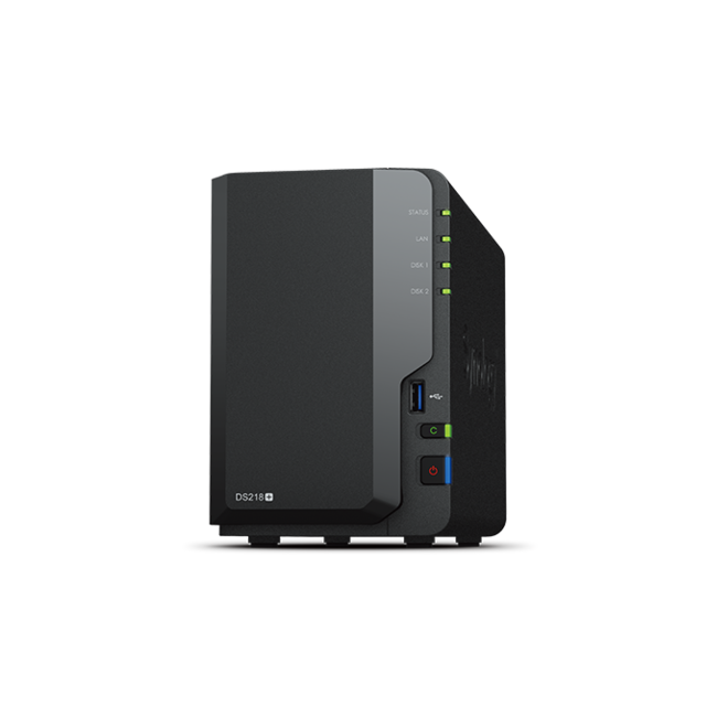 SYNOLOGY - DS218+ 2 baies