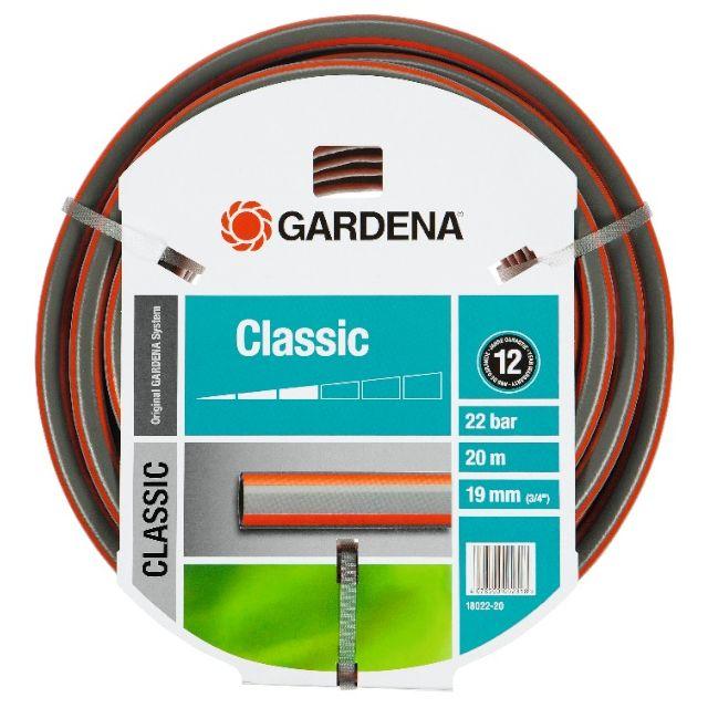 gardena tuyau d 39 arrosage classic 19 mm 20 m pas. Black Bedroom Furniture Sets. Home Design Ideas