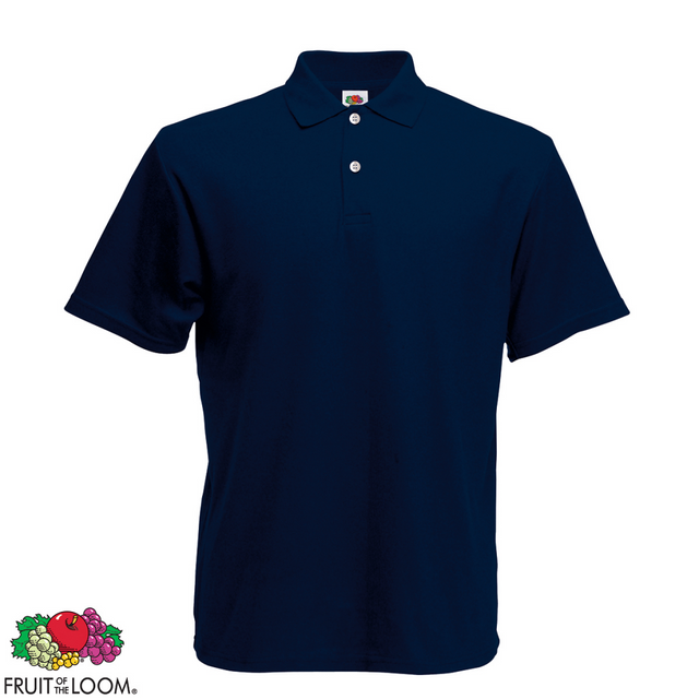 Fruit Of The Loom - Polo Homme Bleu marine Original M - pas cher Achat    Vente Polo homme - RueDuCommerce 990eac252ad0