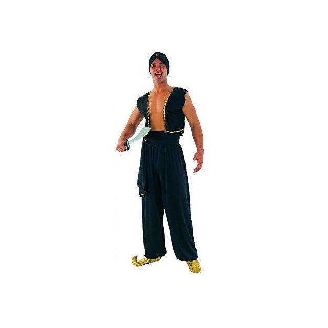 Sans - Déguisement Sultan arabe homme - Taille L - Costume Carnaval  Halloween - 490 f48faba740d