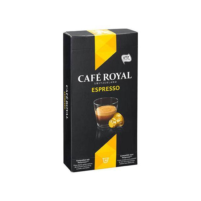 CafÉ Royal Capsules de café Espresso - Boîte de 10