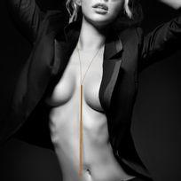 Bijoux Indiscrets - Magnifique - Collier / Fouet en chainettes métalliques