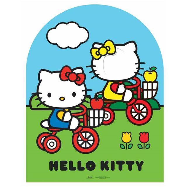 Bebe gavroche passe t te g ante en carton hello kitty - Tete hello kitty ...