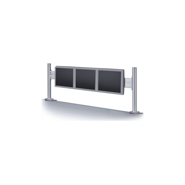 ... fixation par pince pour bureau, attache, support d interface , pour  Écran Lcd - argenté e Taille d écran   10   - 24   - Interface de montage   75  x ... 79a3c33f814e