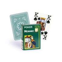 Modiano - Cartes 100% plastique 4 index vert