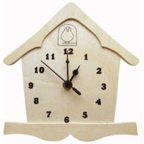 La Fourmi - Horloge en bois avec mécanisme