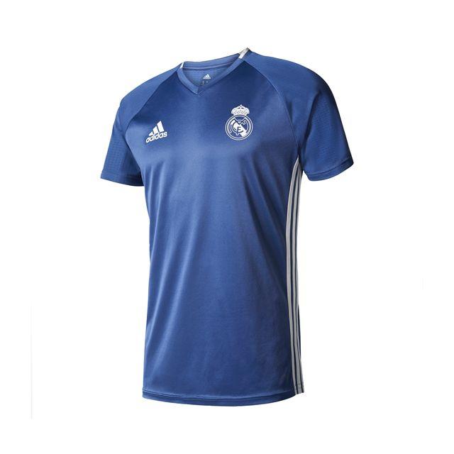 Adidas performance Maillot Entraînement Real Madrid Bleu