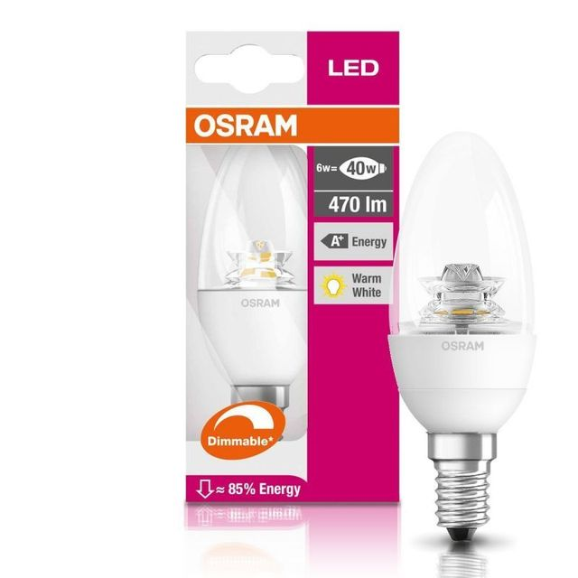 Osram - 900899 - Ampoule Led Superstar E14 6W