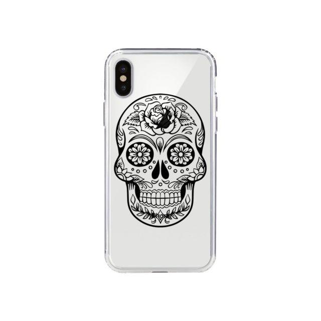 coque tete de mort mexicaine iphone x