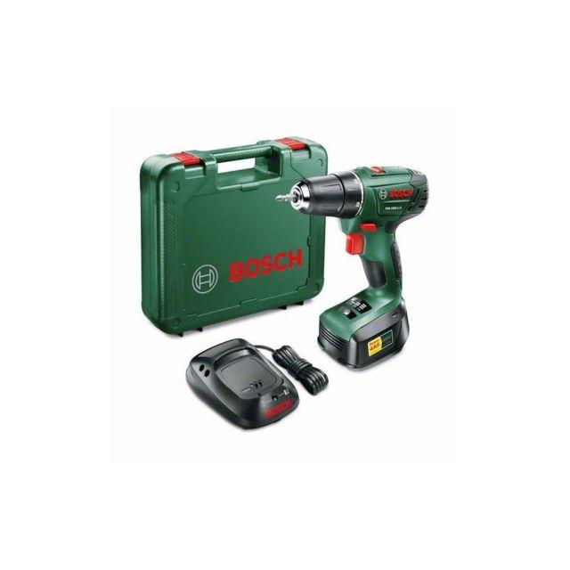 Bosch - Perceuse-visseuse PSR 1800 LI-2, 1 batterie 1,5 Ah - pas ... b06c655717ff