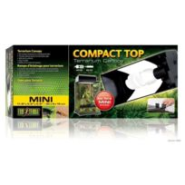 Exo Terra - Rampe Éclairage Compact Top Mini pour Terrarium