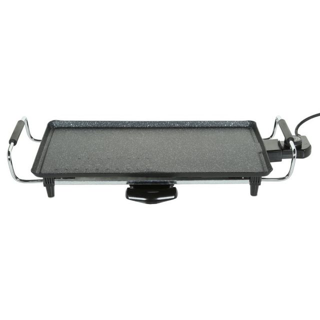 paris prix plancha grill lectrique 45cm noir pas cher achat vente barbecues charbon de. Black Bedroom Furniture Sets. Home Design Ideas
