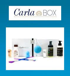 CARLABIKINI Coffret Cadeau Carla Box Cocooning avec les 8 produits beauté de la Carla Box pour prendre soin de votre peau