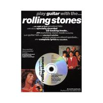 Music Sales - Partition : Rolling Stones Play Guitar With+Cd Tab